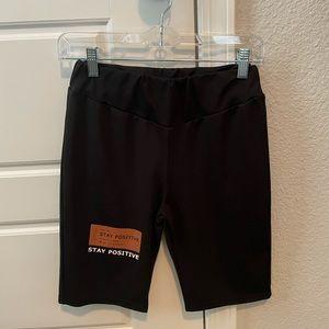 NEW Black Biker shorts